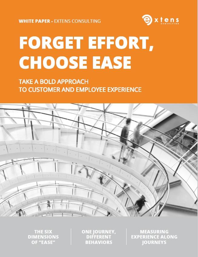 White Paper Forget Effort Choose Ease