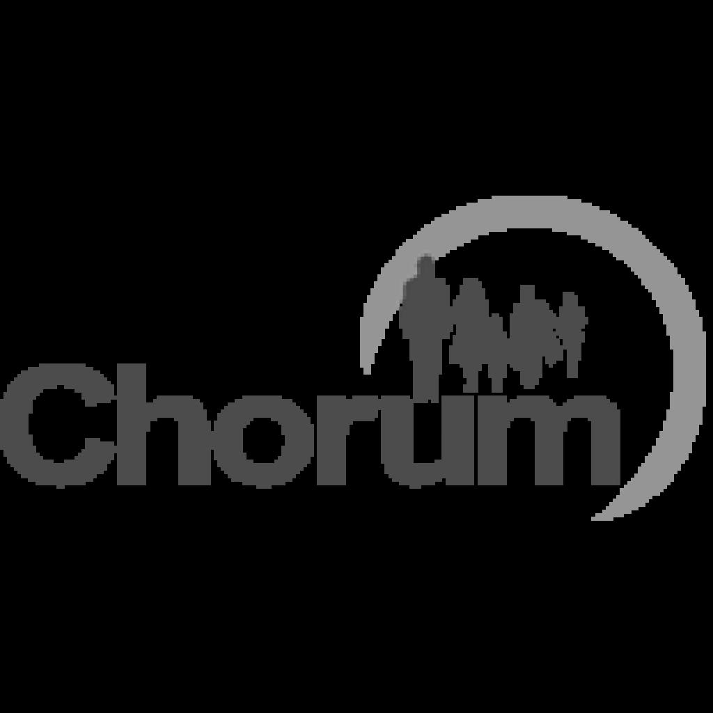 Logo Chorum N&B