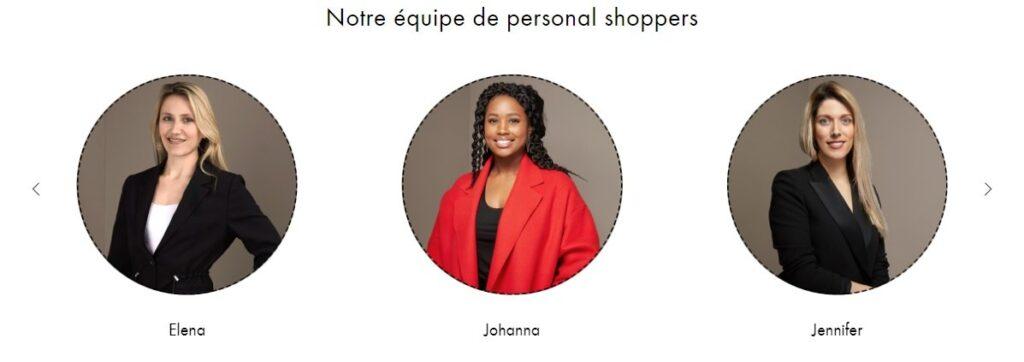Expérience Client - Personal shoppers 24 Sevres